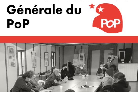 Première assemblée générale du POP Valais