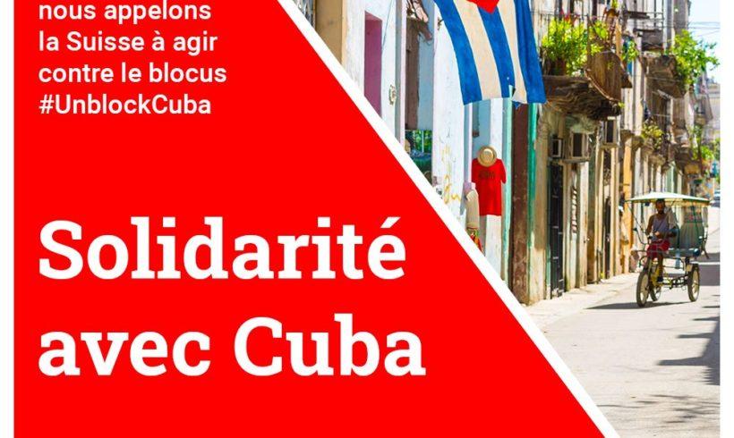 Solidarité avec Cuba