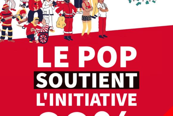 Le POP soutient l'initiative 99%
