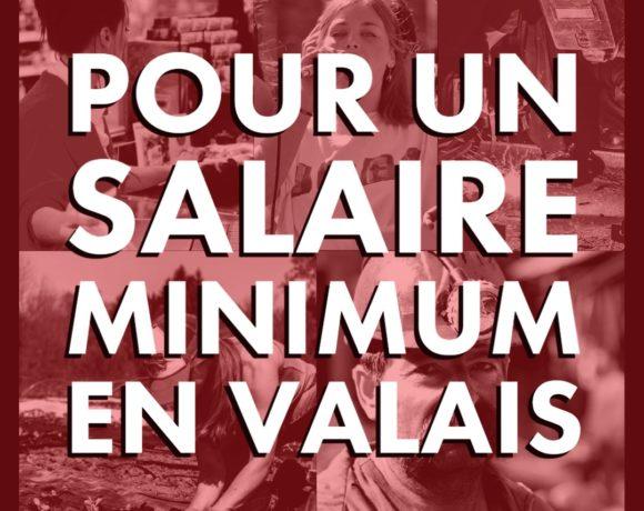 Initiative cantonale pour un salaire minimum